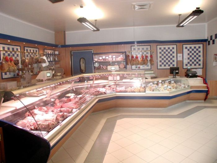 arredamento per macellerie all 39 interno di supermercati