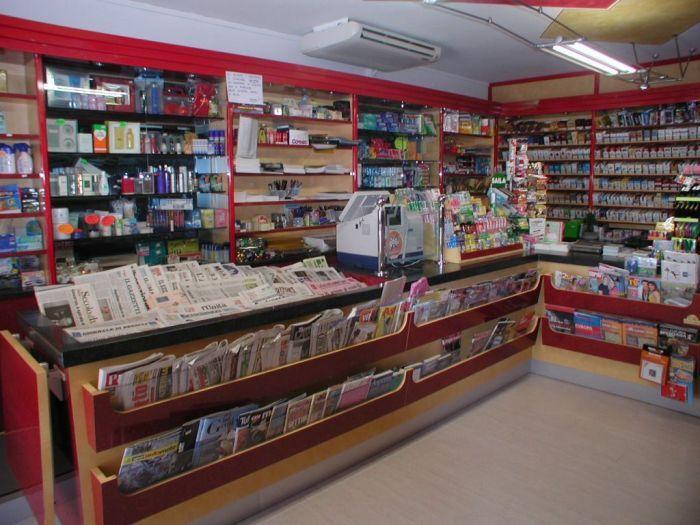 Arredo per negozi tabacchi e giornali for Arredo tabaccheria