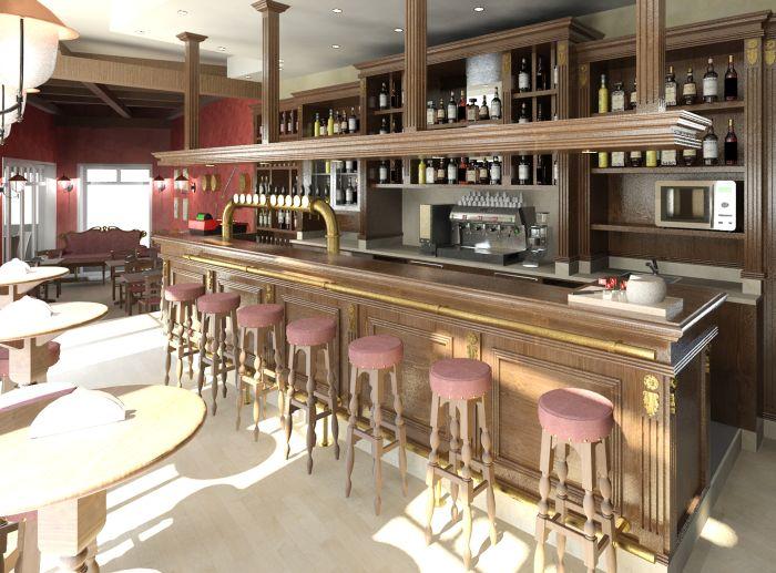 Arredamento per birreria lo studio del proprio pubblico for Arredamento pub irlandese